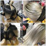 До и после. Окраска волос. Paul Mitchell. Мастер — Третьякова Ольга.