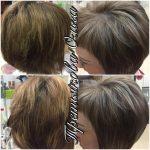 До и после. Окраска волос Paul Mitchell. Мастер Третьякова Ольга.