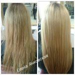 До и после. Ботокс для волос. Мастер парикмахер Елена Янковская.