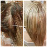 Фотогалерея услуг по окрашиванию и моделированию волос